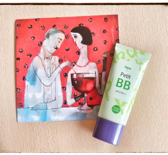 """Apžvalga: korėjietiškas BB kremas """"Holika Holika Petit BB Aqua"""""""
