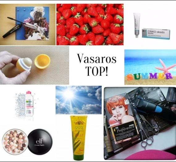 Topas! Kosmetikos priemonės, kurios mane džiugino vasarą 2015