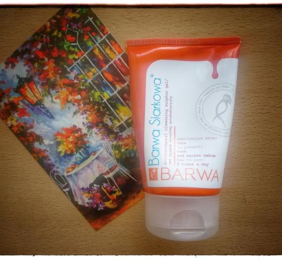"""Apžvalga: """"Barwa Siarkowa"""" antibakterinis, gelinis veido prausiklis su siera"""