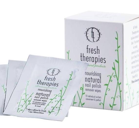 """Atsiliepimas: nagų lako valymo servetėlė """"Fresh Therapies"""""""
