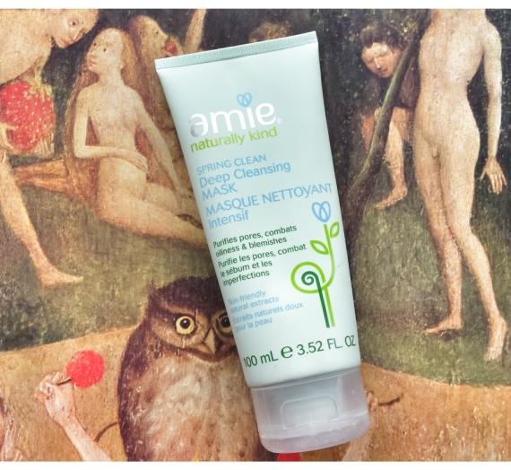 """Apžvalga: """"Amie"""" valomoji veido kaukė """"Spring Clean"""""""