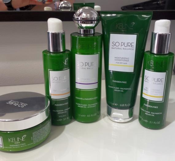 """Trumpai! Išbandžiau """"Keune"""" linijos """"So Pure Natural Balance Recover"""" šampūną bei kaukę"""