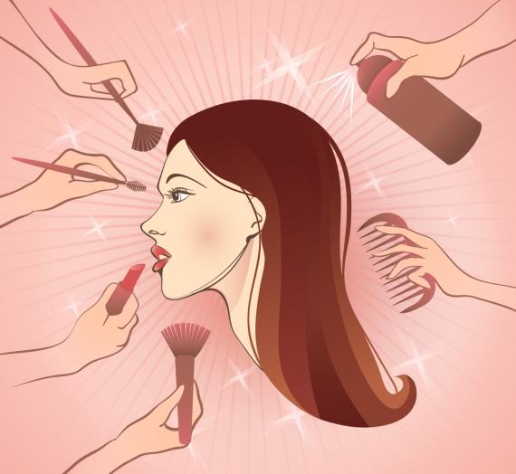 Paplepėjimai: kiek kosmetikos naudoju eilinės dienos makiažui