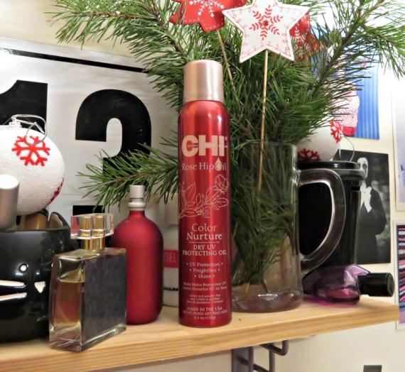 """Apžvalga: CHI sausas purškiamas aliejus """"Rose Hip Oil"""""""