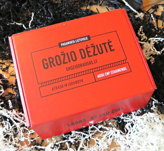 """""""Grožio draugas"""" dešimtoji grožio dėžutė """"Raudona Kalėdinė"""".  Įspūdžiai. Gražių švenčių su padirbiniais!"""