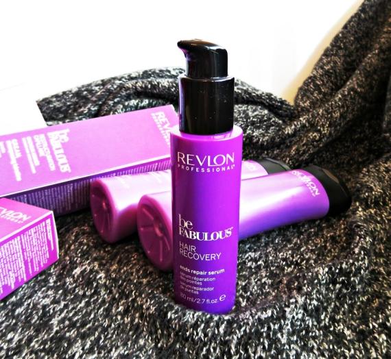 """Apžvalga: """"Revlon Professional"""" serumas pažeistiems plaukų galiukams iš  """"Be Fabulous C.R.E.A.M. Hair Recovery"""" serijos"""