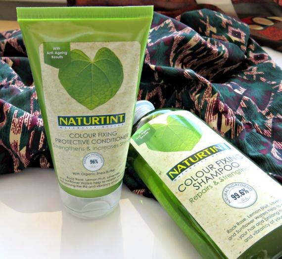 """Apžvalga: """"Naturtint"""" šampūnas bei kondicionierius dažytiems plaukams"""
