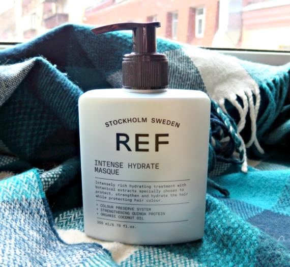 """Apžvalga: REF plaukų kaukė """"Intense Hydrate"""""""