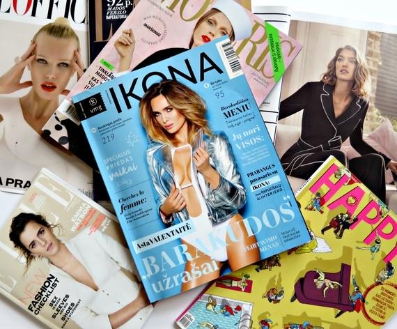 Veni Vidi mėgsta: žurnalai, kuriuos aš skaitau
