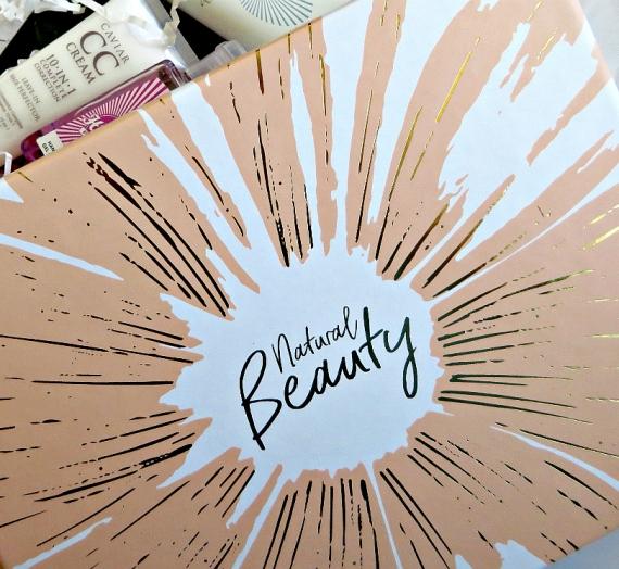 """""""Lookfantastic"""" grožio dėžutė """"Natural Beauty"""", 2017 m. balandis. Įspūdžiai"""