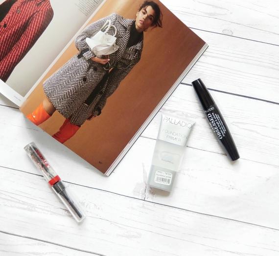 """Pažintis su """"Palladio"""" kosmetika: makiažo bazė ir antakių gelis"""