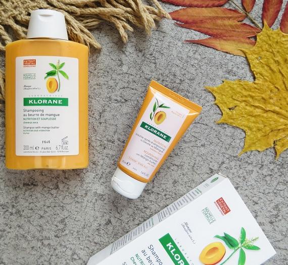 """Apžvalga: """"Klorane"""" šampūnas ir kondicionierius sausiems plaukams su mango sviestu"""