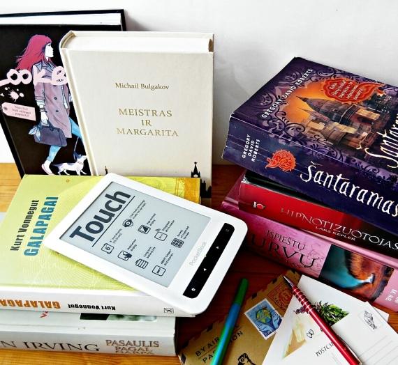 """5 metai su elektronine knygų skaitykle """"Pocketbook"""""""