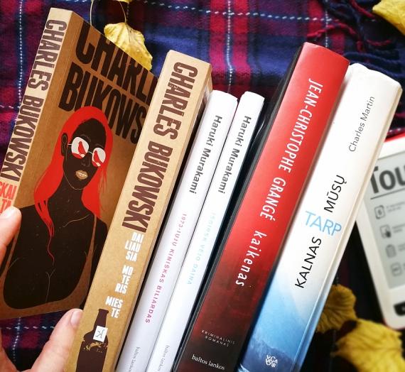 Spalio knygos: pošlybės, fantastika, lietuviška meilė, žiaurus detektyvas, lėktuvo katastrofa ir kt.