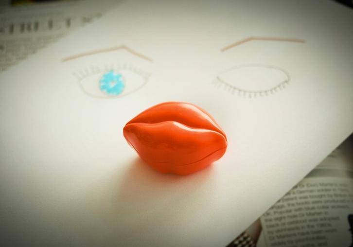 TonyMoly Kiss Kiss Lip Scrub | Grožio blogas
