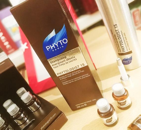 """Apžvalga: """"Phyto"""" energijos suteikiantis ir plaukų slinkimą stabdantis šampūnas """"PHYTOLOGIST 15"""""""