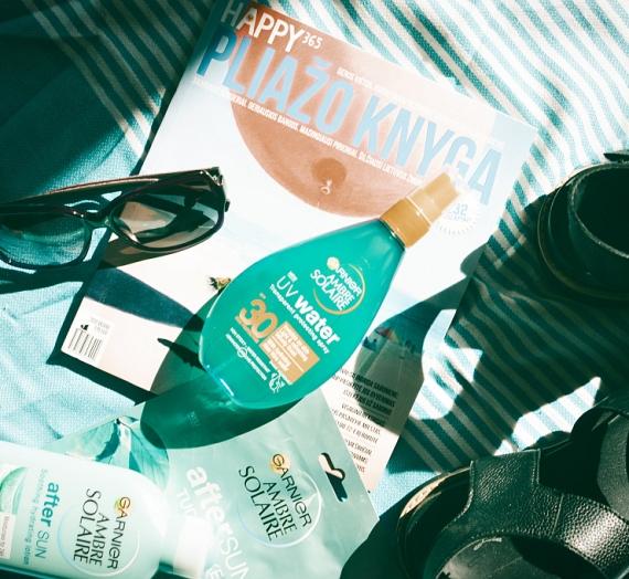 """Apžvalga: """"Garnier Ambre Solaire"""" apsauga nuo saulės """"UV Water"""""""