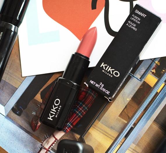 "Apžvalga: ""Kiko Milano"" lūpų dažai ""Smart Fusion"", 405 spalva"