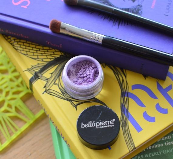 """Apžvalga: """"Bellapierre"""" mineraliniai šešėliai, spalva SP066 Varooka"""