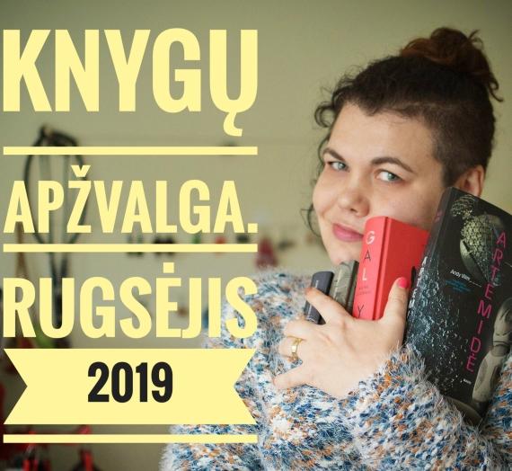Knygų apžvalga. Rugsėjis 2019