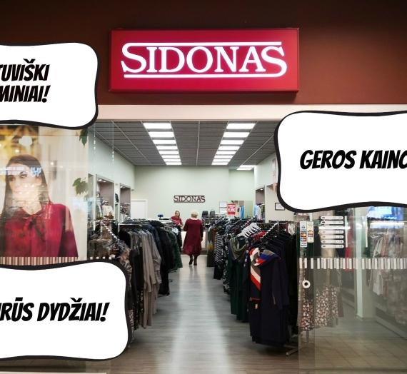 """""""Sidonas"""" – drabužių parduotuvė, kurioje man tiko visos suknelės!"""