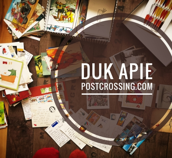 DUK apie postcrossing.com arba 10 metų tarp atvirukų