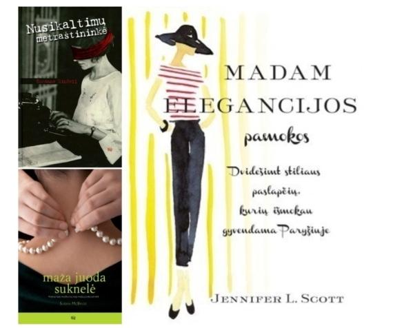 Rekomenduoju tris knygas fashionistoms!