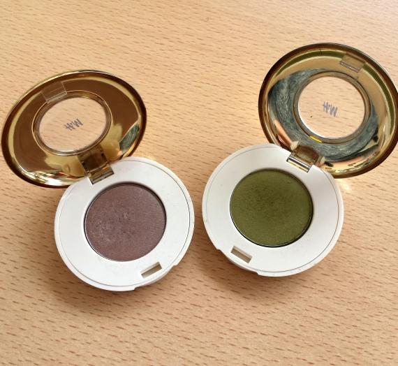 """Apžvalga: """"H&M"""" akių šešėliai. """"Mojave"""" ir """"Ginko green"""" spalvos"""