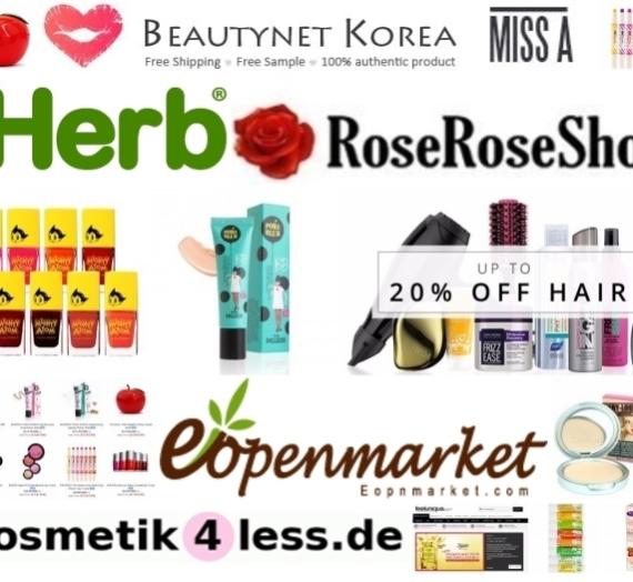 Kur pirkti kosmetiką? Mano atrastos internetinės parduotuvės