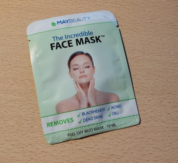 "Apžvalga: ""Mybeauty"" veido kaukė ""The incredible face mask"""