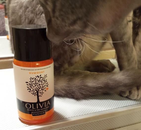 """Apžvalga: """"Olivia Fusion"""" dušo želė su kinkanų vaisių ir organinių alyvuogių aliejaus ekstraktais"""