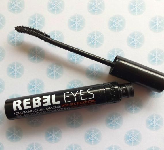 """Apžvalga: """"Gosh"""" blakstienų tušas """"Rebel eyes"""""""