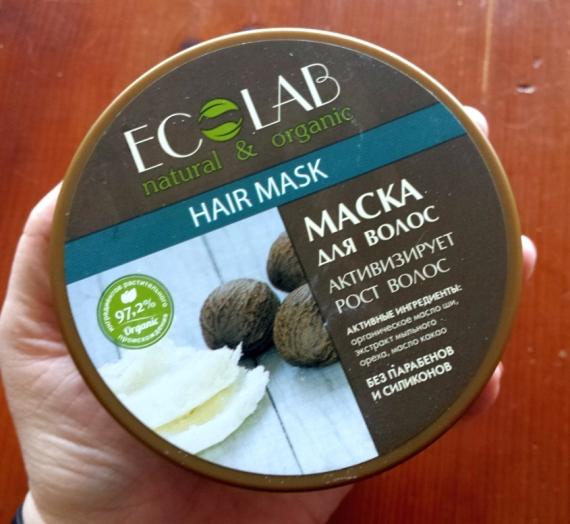 """Apžvalga: """"EcoLab"""" augimą skatinanti plaukų kaukė"""