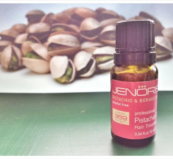 """Apžvalga: """"Janoris"""" plaukų priežiūros priemonė su pistacijų aliejumi"""
