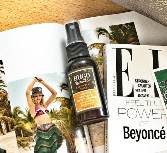 "Apžvalga: ""Hugo Naturals"" kvapnus vanilės ir saldaus apelsino kvapo purkškiklis"