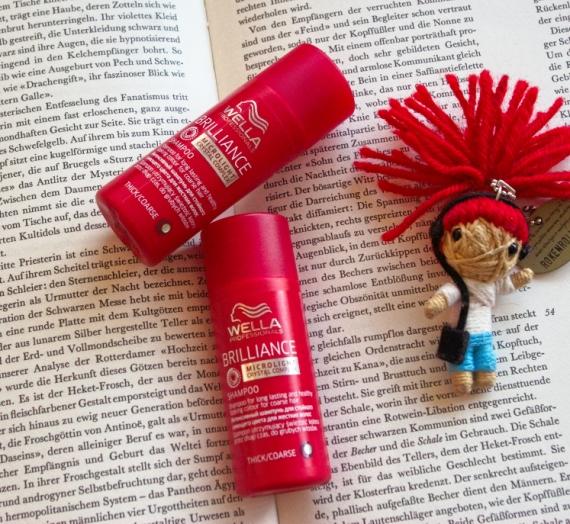 """Apžvalga: """"Wella Profesionals"""" šampūnas šiurkštiems, storiems, dažytiems plaukams """"Brilliance"""""""