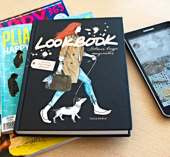 """Apžvalga: Stiliaus knyga merginoms! Maud Gabrielson ir Alix de Moussac """"Lookbook"""""""