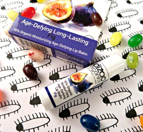 """Apžvalga: """"Dizao Organics"""" lūpų balzamas, figų kvapo"""