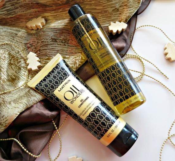 """Atsiliepimas: """"Matrix"""" plaukų šampūnas bei kondicionierius """"Oil Wonders Micro-Oil"""""""