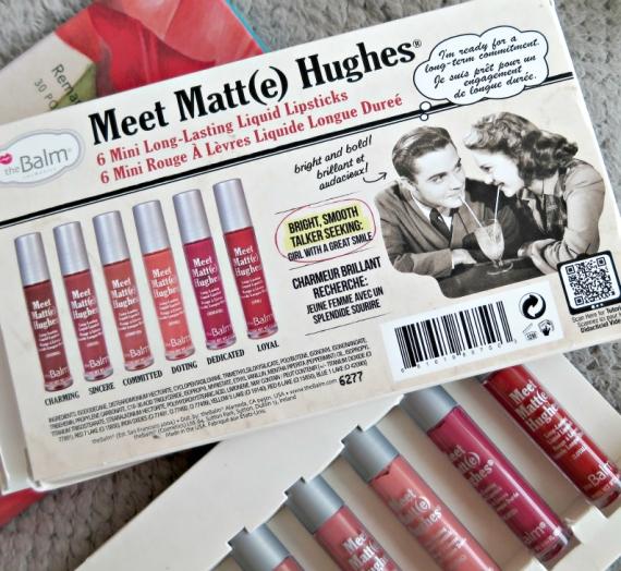 """Apžvalga: """"The Balm"""" matinių lūpų kremų rinkinys """"Meet Matt(e) Hughes"""""""