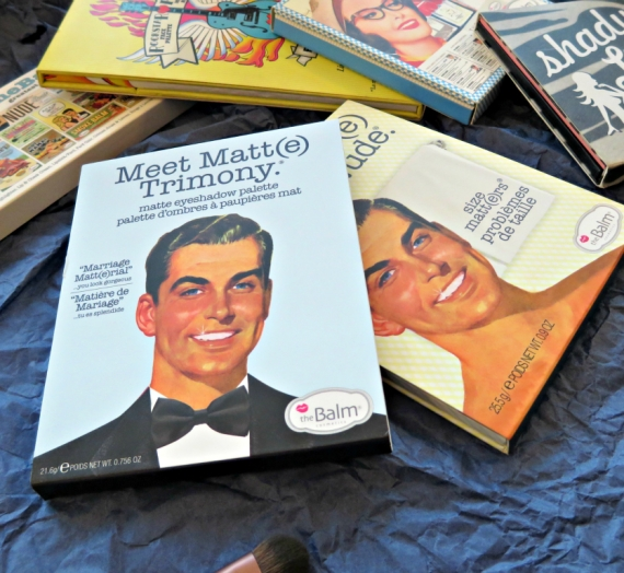 """Apžvalga: """"The Balm"""" matinių šešėlių paletė """"Meet Matt(e) Trimony"""""""