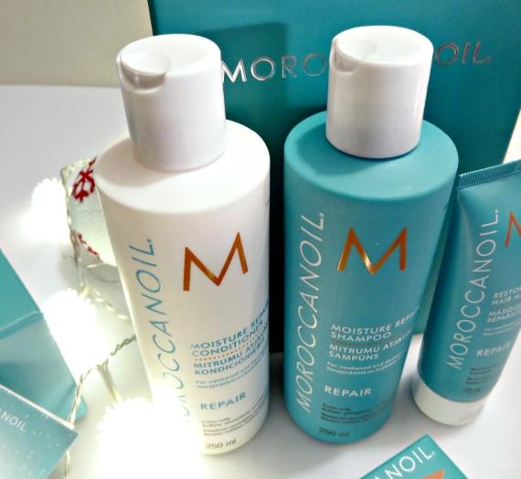 """Apžvalga: """"Moroccanoil"""" šampūnas ir kondicionierius sausiems bei pažeistiems plaukams """"Moisture Repair"""""""