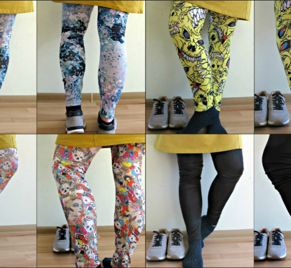 Timpų manija arba mano leggings'ų kolekcija