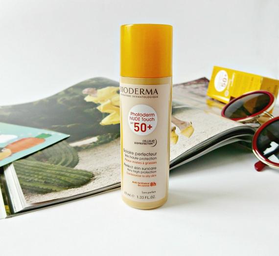 """Apžvalga: """"Bioderma"""" veido kremas nuo saulės su spalva """"Photoderm NUDE Touch SPF 50+ Natural tint"""""""