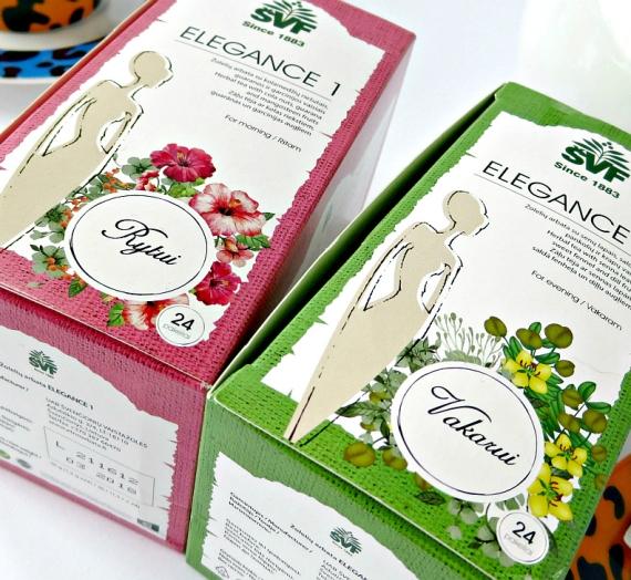 """Apžvalga: """"Elegance"""" arbatos rytui ir vakarui. Pagalba lieknėjant"""