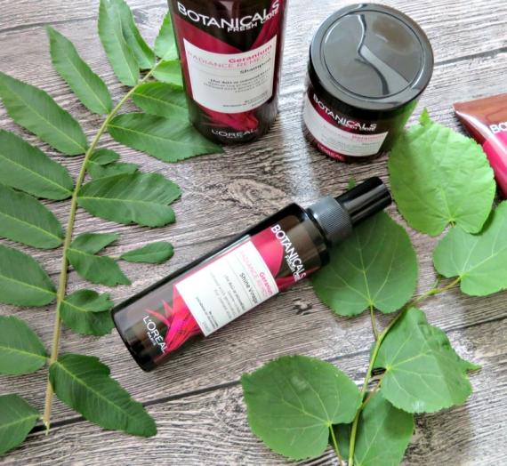 """Apžvalga: """"Botanicals Fresh Care"""" žvilgesio suteikiantis tonikas """"Geranium Radiance Remedy"""""""