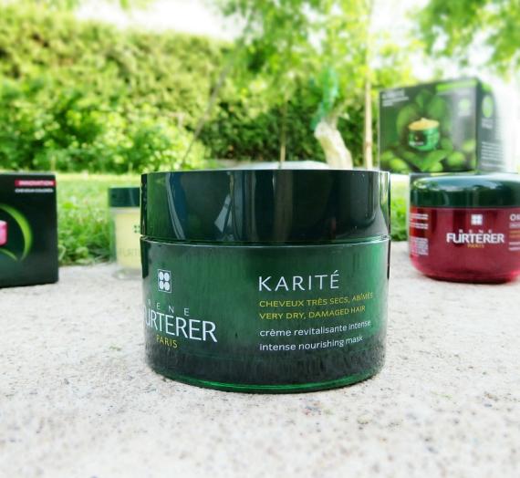 Apžvalga: RENE FURTERER intensyviai maitinanti kaukė labai sausiems, pažeistiems plaukams KARITE