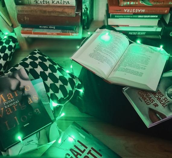"""Apie lapkričio skaitinius, apie mano požiūrį į knygas ir apie programėlę """"Milžinas"""""""