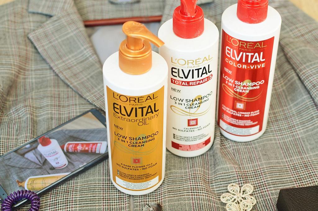 "Loreal Elvital ""Low Shampoo""   Grožio blogas"