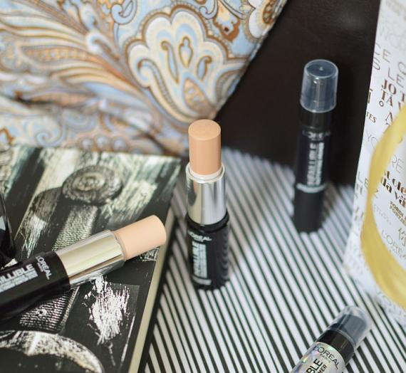 """Apžvalga: """"L'Oréal Paris"""" formuojamieji pieštukai-krempudra """"Infallible Shaping Stick Foundation"""""""